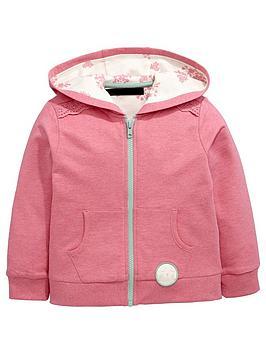 mini-v-by-very-girls-pink-marl-zip-through-hoodie