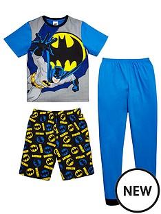 batman-short-sleeve-3pk-pyjama-set