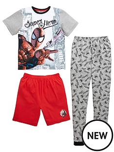 spiderman-super-hero-boys-pyjamas-set-3-piece