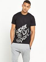 Gym Base Sprint Runner T-shirt - Black