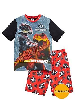 jurassic-world-boys-short-pyjamas
