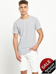 minimum-long-line-striped-tshirt