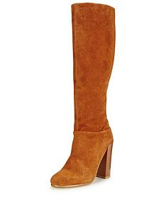 v-by-very-salmanbspsuede-knee-high-block-heel-seventies-bootnbsp
