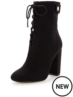 v-by-very-turner-military-lace-up-front-gold-zip-high-leg-ankle-boot