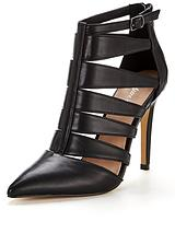 Tower Pointed Cut Out Heeled Shoe