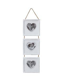 white-wood-triple-heart-hanging-photo-frame