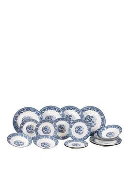 country-blue-18pc-dinner-set