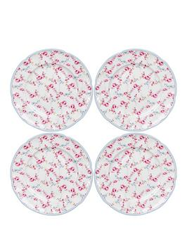 country-rose-4pc-tea-plates