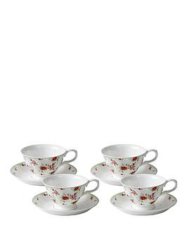red-rose-4-cup-and-saucer-set