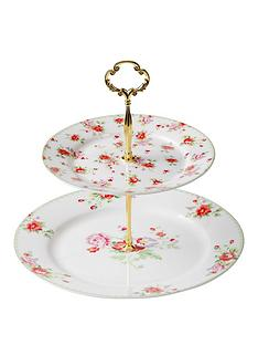 red-rose-cake-stand