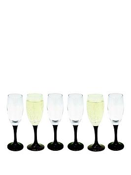Black stem wine glasses shop for cheap glassware and Large wine glasses cheap