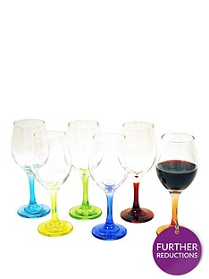 coloured-stem-wine-glasses-ndash-6-piece-set