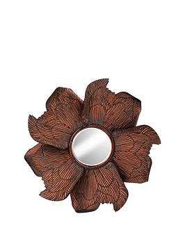 flower-design-metal-wall-mirror