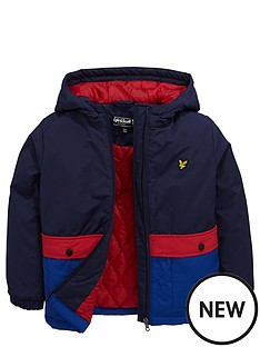 lyle-scott-hooded-colourblock-coat