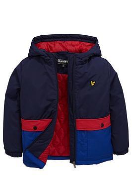 lyle-scott-hooded-colourblock-coat