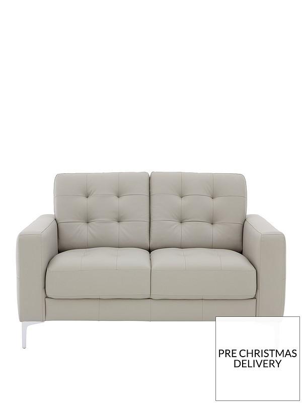 Brook 2 Seater Premium Leather Sofa