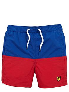 lyle-scott-colour-block-swim-short