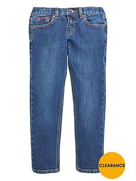 lyle-scott-slim-leg-jean-light-worn