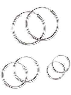 sterling-silver-set-of-3-hoop-earrings