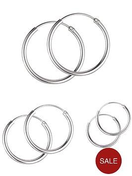sterling-silver-set-of-3-hoop-earrings