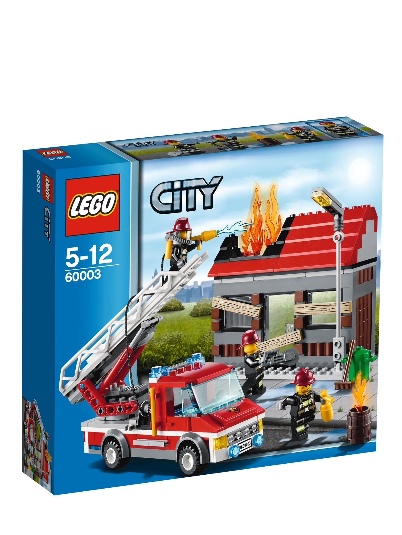 City Fire Emergency