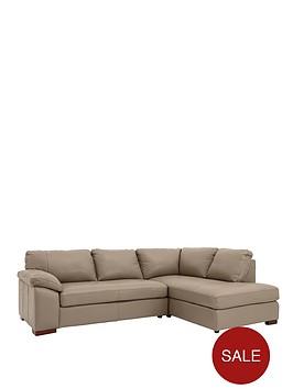 renee-right-hand-leather-corner-group-sofa
