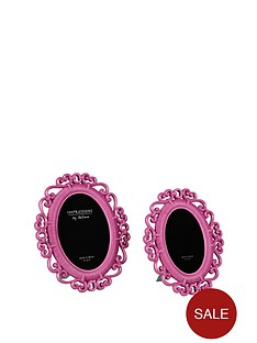 fearne-cotton-erin-oval-frames-2-pack-pink