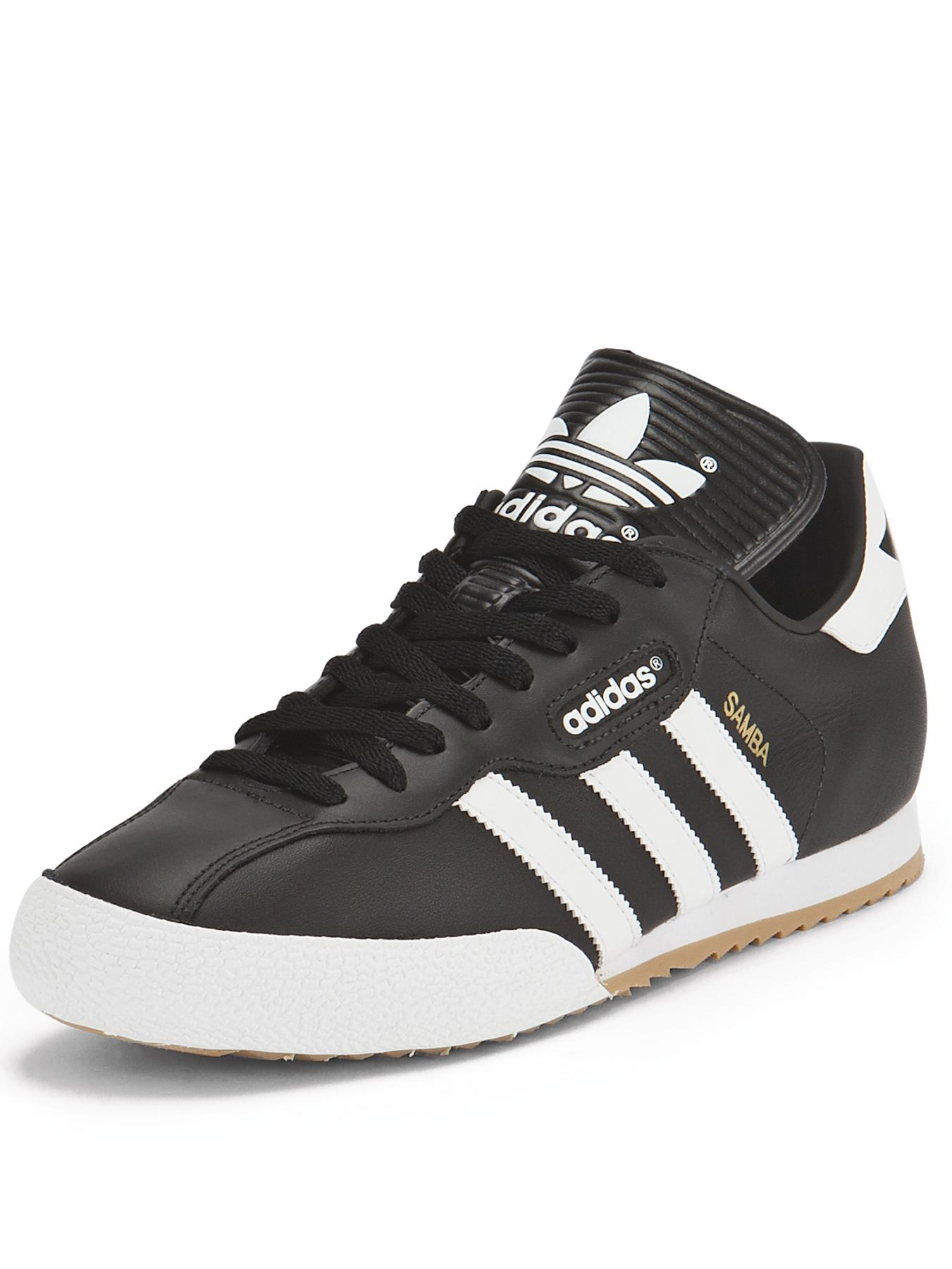 Samba Super Trainers, Black.
