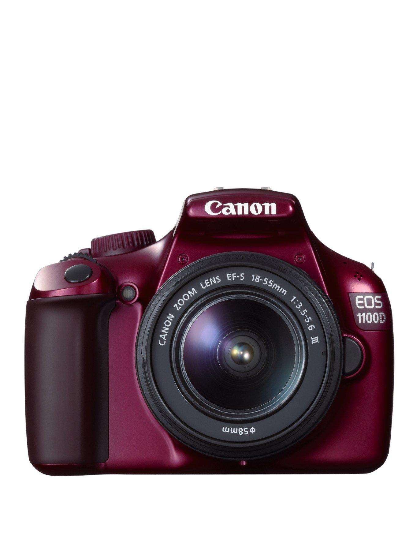 12 Megapixel EOS 1100D Digital SLR Camera with 18-55mm IS Lens