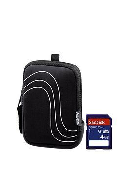 hama-fancy-neoprene-swell-bag-with-sandisk-4gb-memory-card