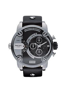 diesel-baby-daddy-black-strap-mens-watch