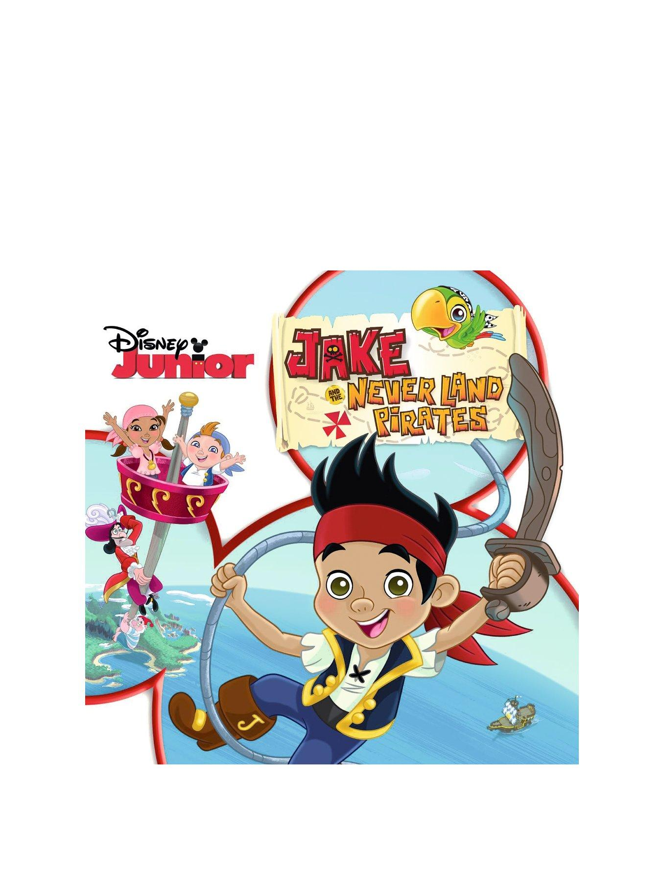 Jake And The Neverland Pirates (Never Land Pirate Band) CD