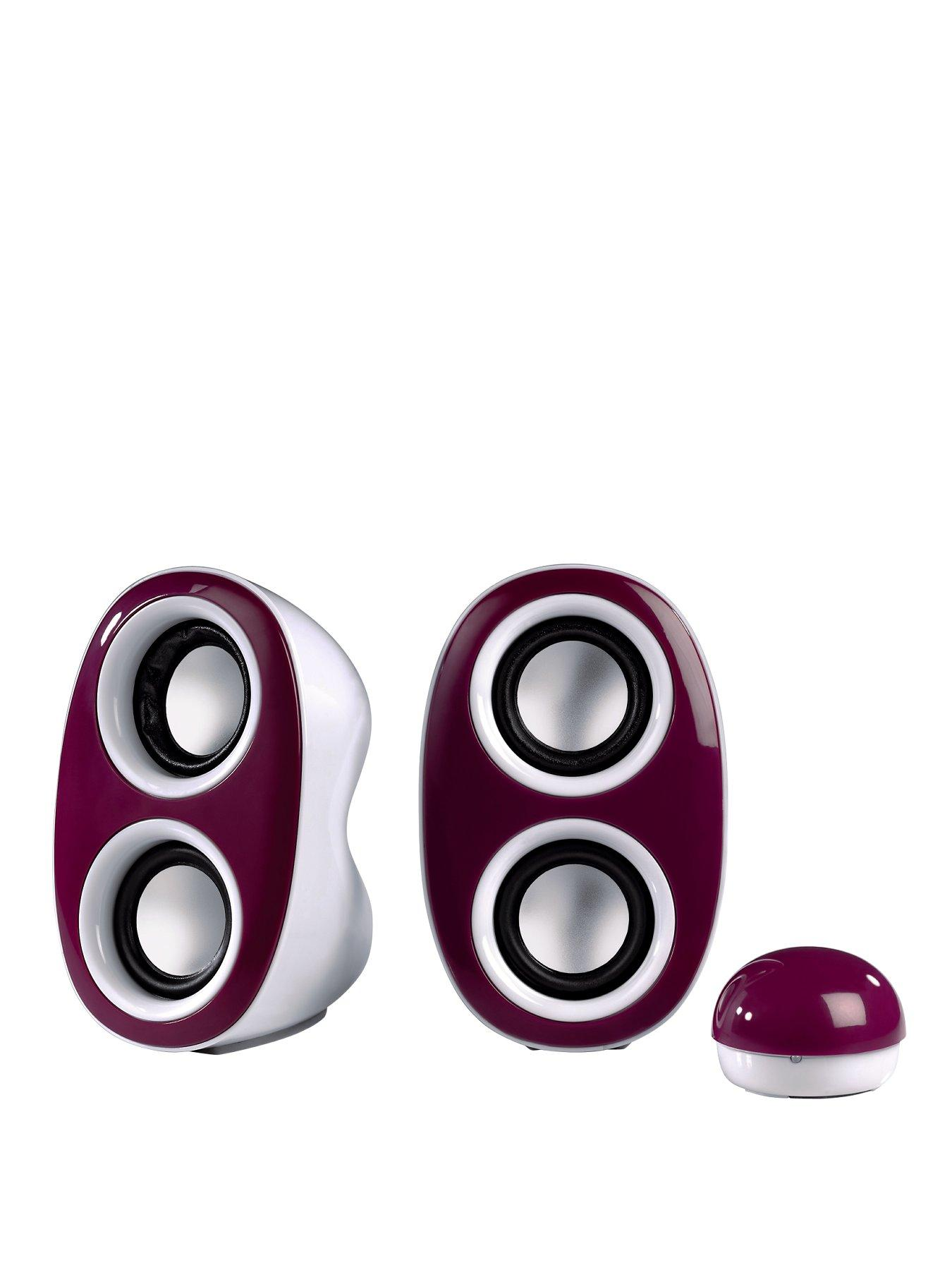 Dispersion Portable PC Speakers - Purple