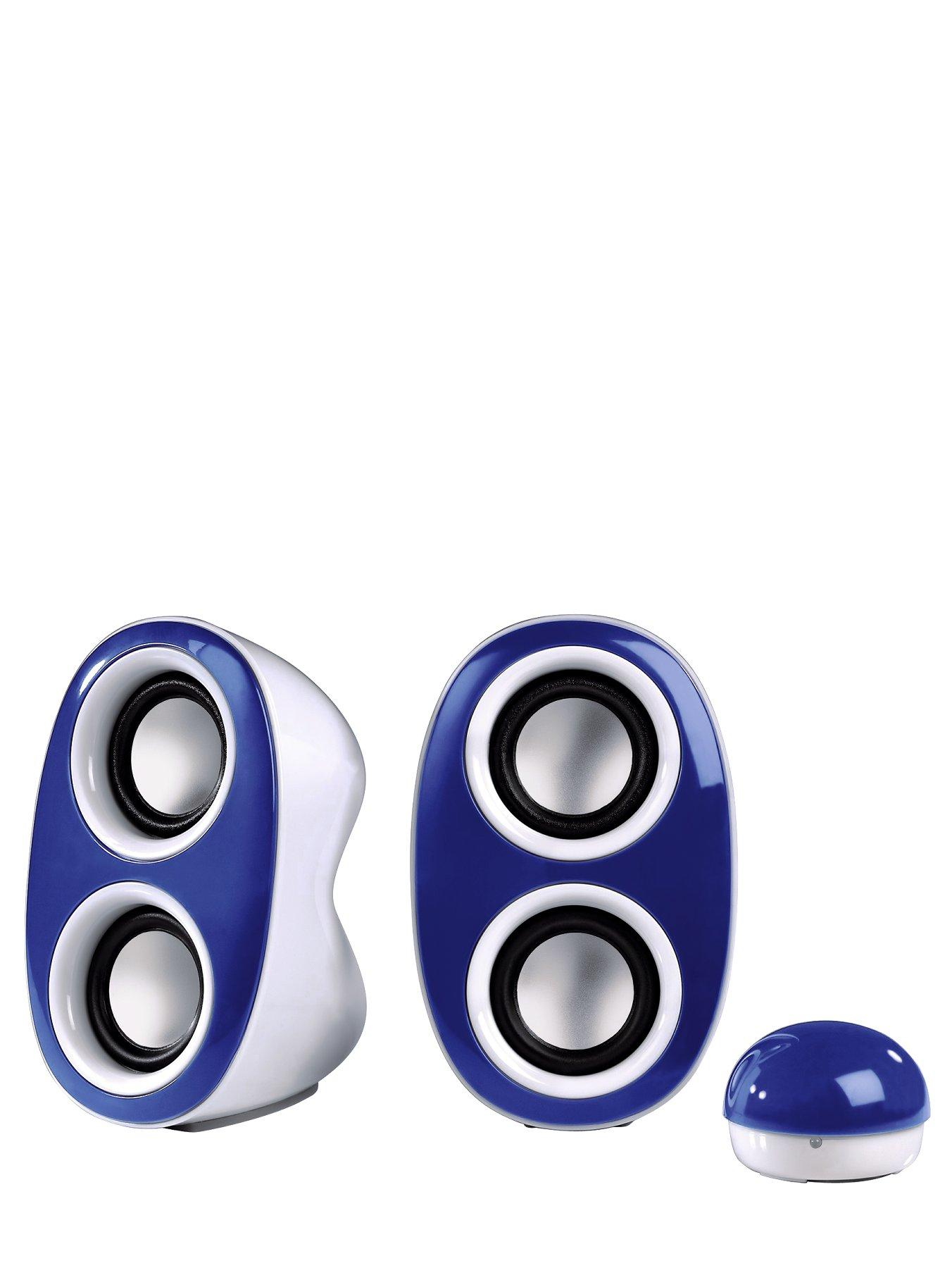 Dispersion Portable PC Speakers - Blue