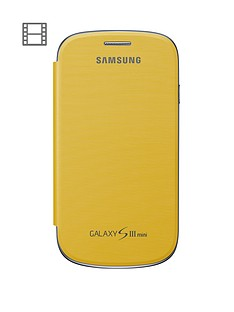 samsung-galaxy-s3-mini-leather-flip-case-yellow