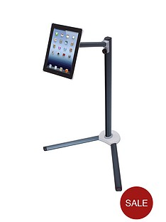 ekit-adjustable-ipad-234-floor-stand-black