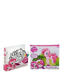 my-little-pony-colour-your-own-cushion-amp-glow-amp-sparkling-bead-duo-pack