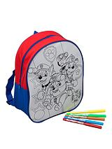 Paw Patrol Colouring Filled Backpack