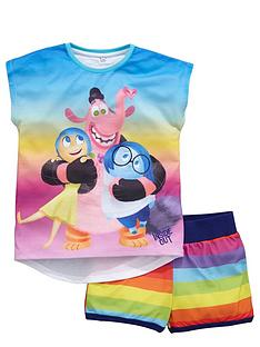 disney-inside-out-girls-rainbownbspshortynbsppyjamas