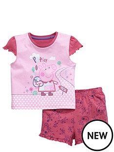 peppa-pig-peppa-pig-short-sleeve-shorty-pyjamas