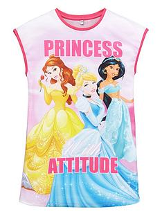 disney-princess-girls-attitude-long-night-tee