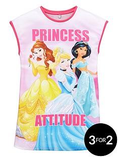 disney-princess-girls-attitude-long-night-tee