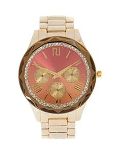 river-island-river-island-gold-facetd-bezel-ladies-watch