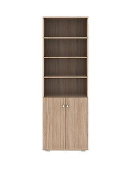 alpha-bookcase-with-cupboard