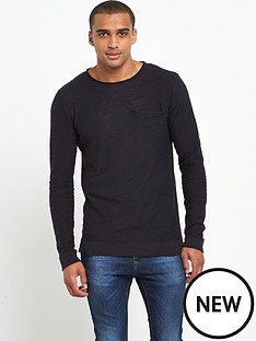 only-sons-ian-crew-neck-pocket-top