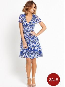 myleene-klass-v-neck-tea-dress