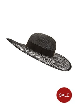 v-by-very-open-weave-hat