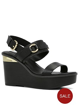 aldo-flora-two-strap-buckle-wedge