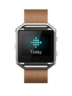 fitbit-blaze-accessory-standard-band-leather-fitness-tracker-not-included