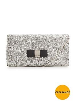 carvela-glitter-clutch-bag-silver
